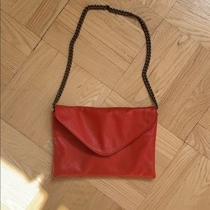 100% Leather J. Crew bag